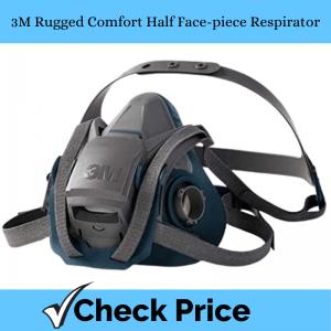 3M Rugged Comfort Half Face-piece Respirator_