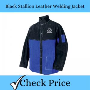 Black Stallion Leather Welding Jacket_