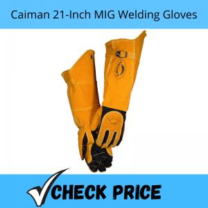 Caiman 21-Inch MIG Welding Gloves