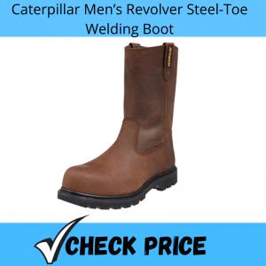 Caterpillar Men's Revolver Steel-Toe Welding Boot