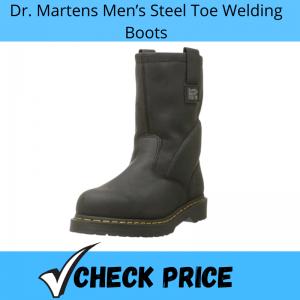 Dr. Martens Men's Steel Toe Welding Boots_