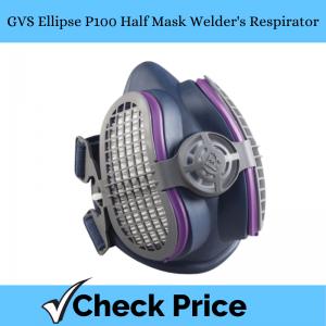 GVS Ellipse P100 Half Mask Welder's Respirator_