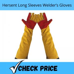 Hersent Long Sleeves Welder's Gloves