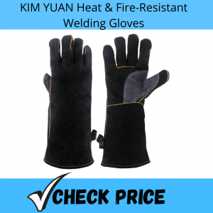 KIM YUAN Heat & Fire-Resistant Welding Gloves