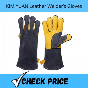 KIM YUAN Leather Welder's Gloves