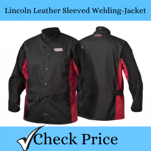 Lincoln Leather Sleeved Welding-Jacket_