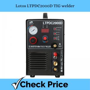 Lotos LTPDC2000D TIG welder_