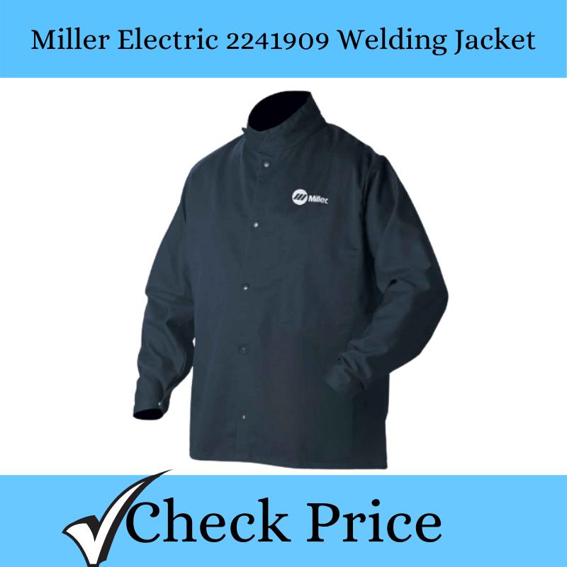 Miller Electric 2241909 Welding Jacket_