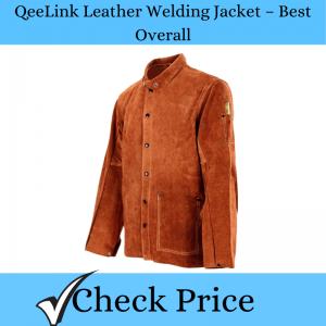 QeeLink Leather Welding Jacket – Best Overall_