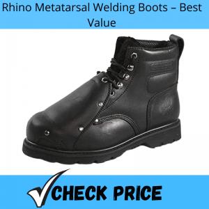 Rhino Metatarsal Welding Boots – Best Value