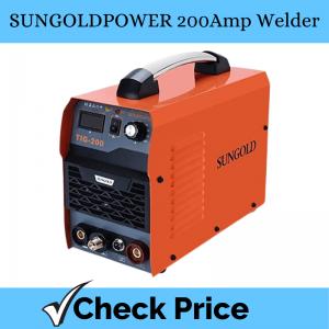 SUNGOLDPOWER 200Amp Welder_