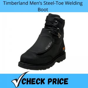 Timberland Men's Steel-Toe Welding Boot