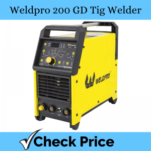 Weldpro Digital TIG 200GD ACDC 200 Amp Tig/Stick Welder