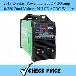 2019 Everlast PowerTIG 200DV 200amp 110_220 Dual Voltage PULSE ACDC Welder