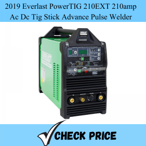 2019 Everlast PowerTIG 210EXT 210amp Ac Dc Tig Stick Advance Pulse Welder