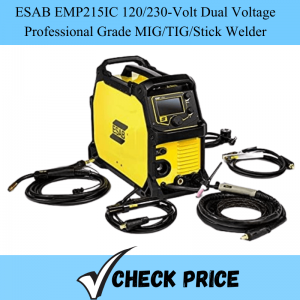 ESAB EMP215IC 120_230-Volt Dual Voltage Professional Grade MIG_TIG_Stick Welder