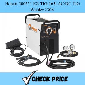 Hobart 500551 EZ-TIG 165i AC_DC TIG Welder 230V