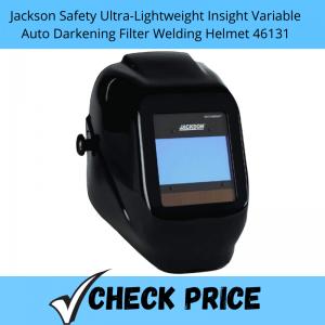 Jackson Safety Ultra-Lightweight Insight Variable Auto Darkening Filter Welding Helmet 46131