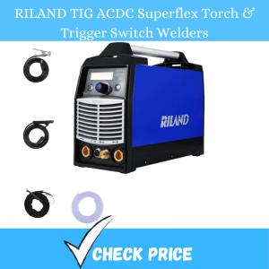 RILAND TIG ACDC Superflex Torch & Trigger Switch Welders