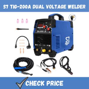 S7 TIG-200A dual voltage welder