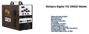 Weldpro Digital TIG Welder 200GD