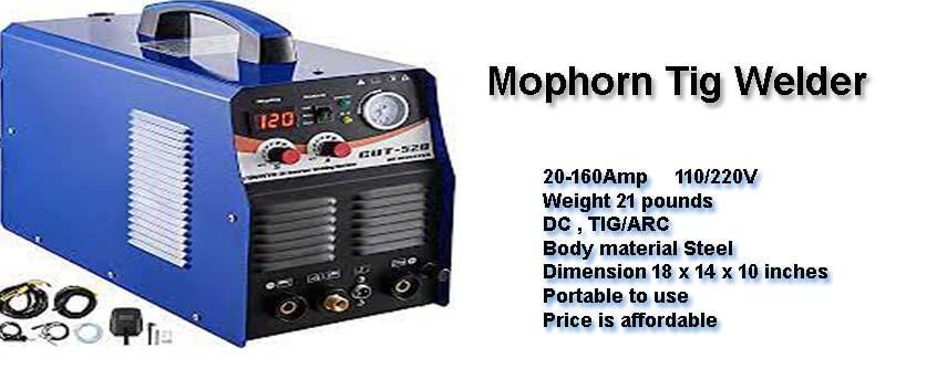 Mophorn Tig Welder 160 Amps Review